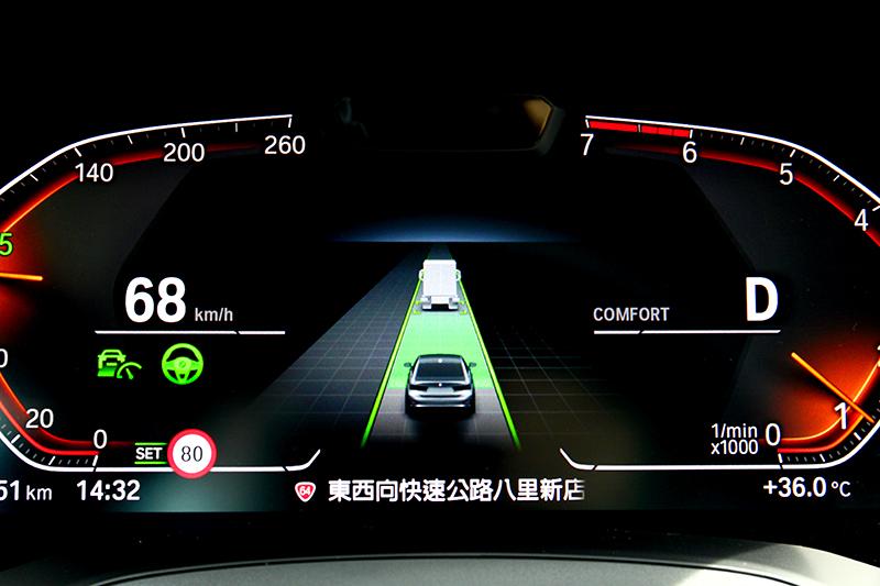 半自動駕駛輔助系統並沒因入門車型而犧牲減少。