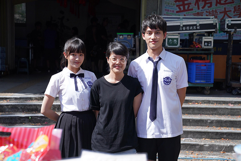 《比悲傷更悲傷的故事》影集開鏡(左起)王淨、導演謝沛如、范少勳。