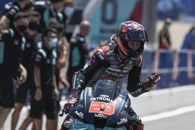 Quartararo展現實力成功奪下生涯首座GP分站冠軍。