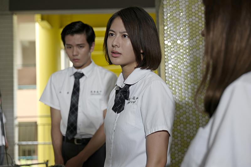 《哈囉少女》中姚亦晴為同學打抱不平。