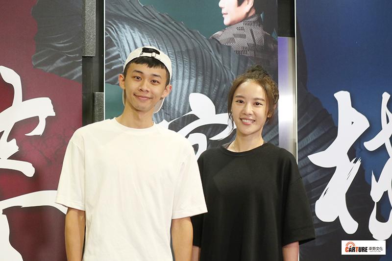 《孟婆客棧》主要演員(左起)吳政迪、方宥心。