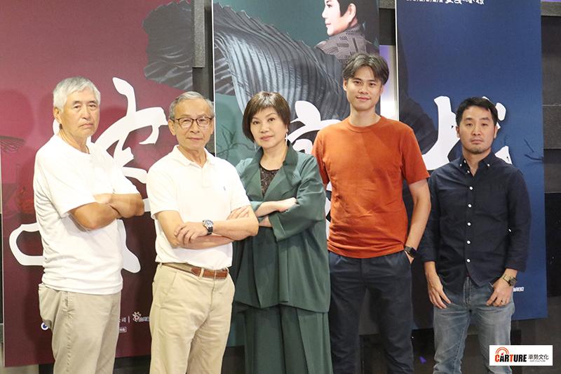 《孟婆客棧》製作團隊陣容(左起)柯一正、 吳念真 、 唐美雲 、 吳定謙、  李中