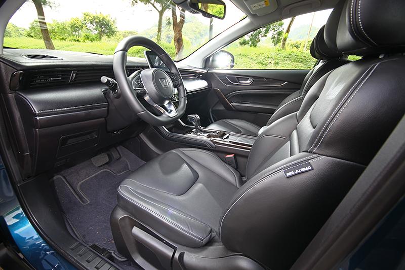 座艙依舊保有原本不錯的質感與舒適性。