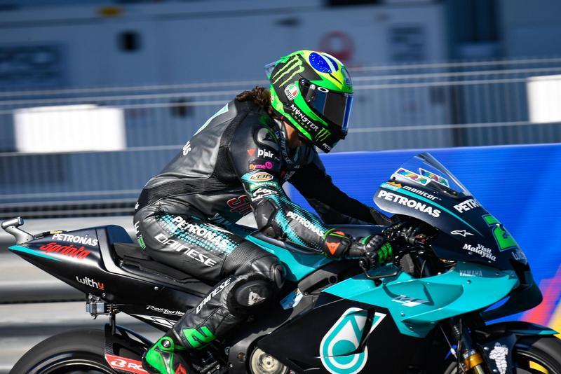 Yamaha以連續兩周發生引擎故障問題,本站Morbidelli就因此而被迫退賽。