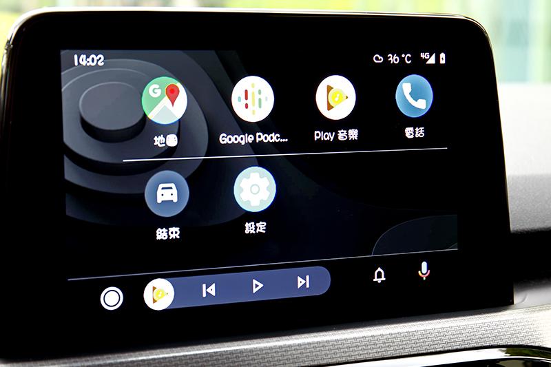 Apple CarPlay與Android Auto依舊是標準配備。