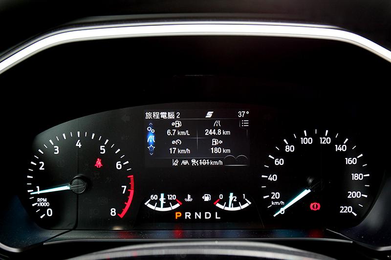 4.2吋全彩液晶智慧多功能儀錶板,行車資訊豐富且完整。