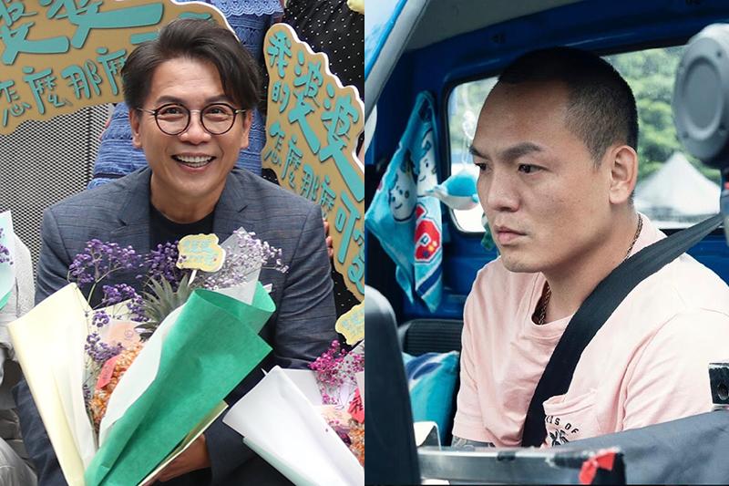 許傑輝(右)首部執導的電影短片《88海水浴場》入圍「2020日本東京國際短片影展」。許傑輝(左)本站資料照片,春風劇照(右)/花路米創意傳播有限公司提供。