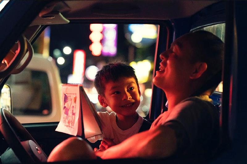 許傑輝首部執導的電影短片《88海水浴場》入圍「2020日本東京國際短片影展」,圖為男主角春風。/花路米創意傳播有限公司提供