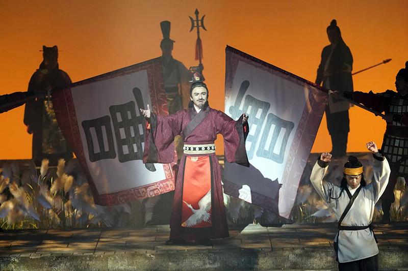 音樂劇《賽貂蟬》演員小馬。/全民大劇團提供