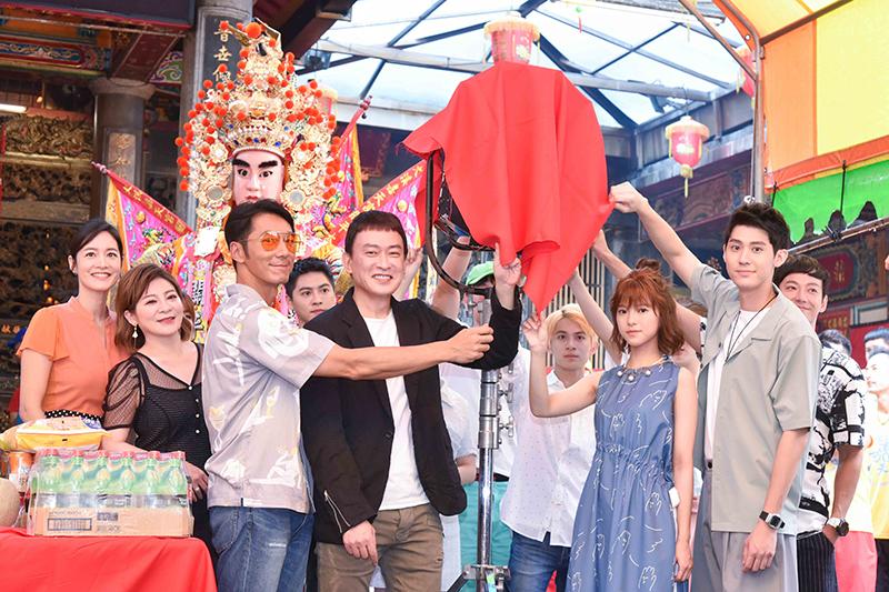 台灣原創漫畫改編戲劇《神之鄉》舉行開鏡儀式。/東森戲劇提供