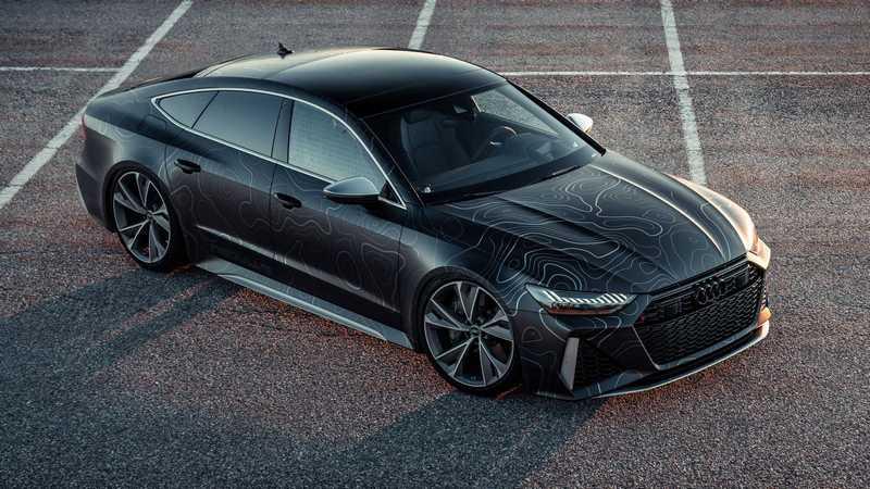 這輛Audi RS 7 Sportback在經過BlackBox-Richter改裝下,有著962h匹最大馬力。