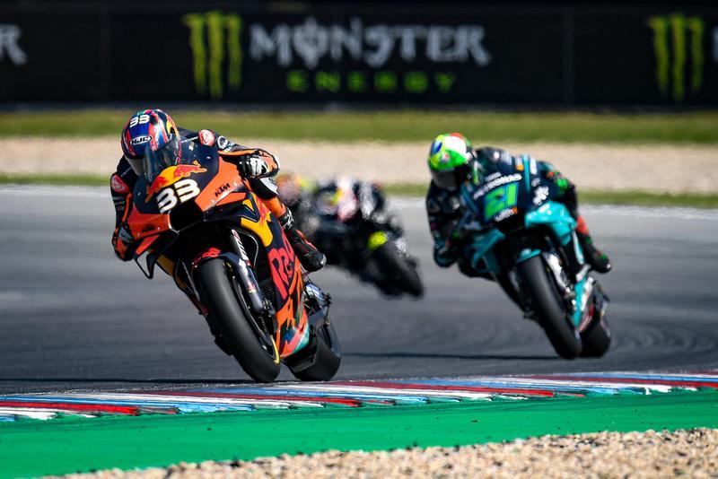 MotoGP菜鳥Binder表現非常出色,最終順利拿下GP級別首場勝利。