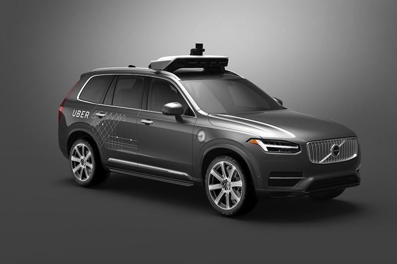 這是一台Volvo XC90?不,你其實該將它看成Uber自動駕駛系統的載具。