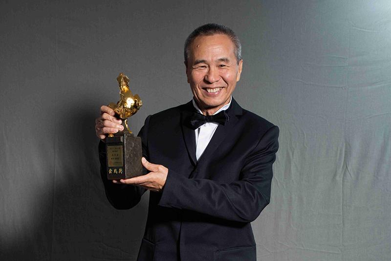 第57屆金馬獎「終身成就獎」得主侯孝賢導演。