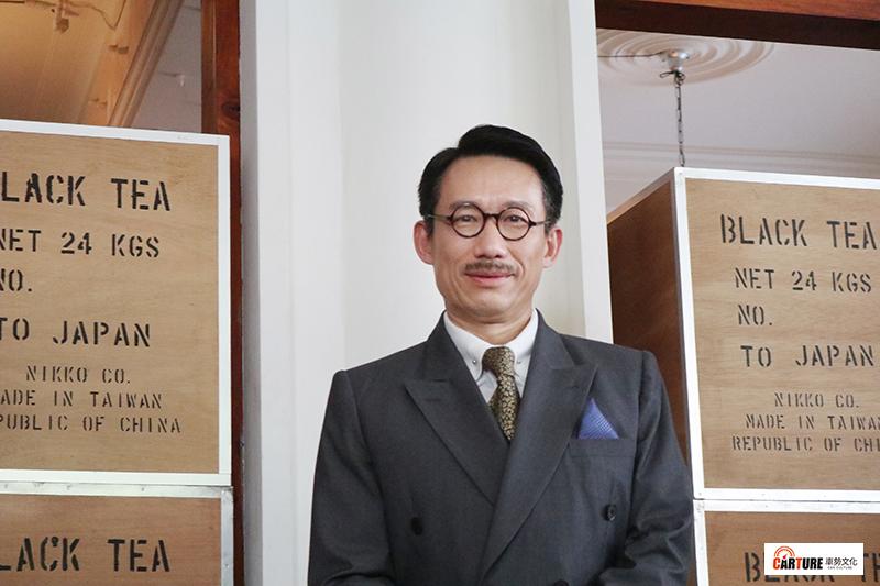 客語時代生活劇《茶金》演員郭子乾以幼稚園程度形容自己的客語能力。