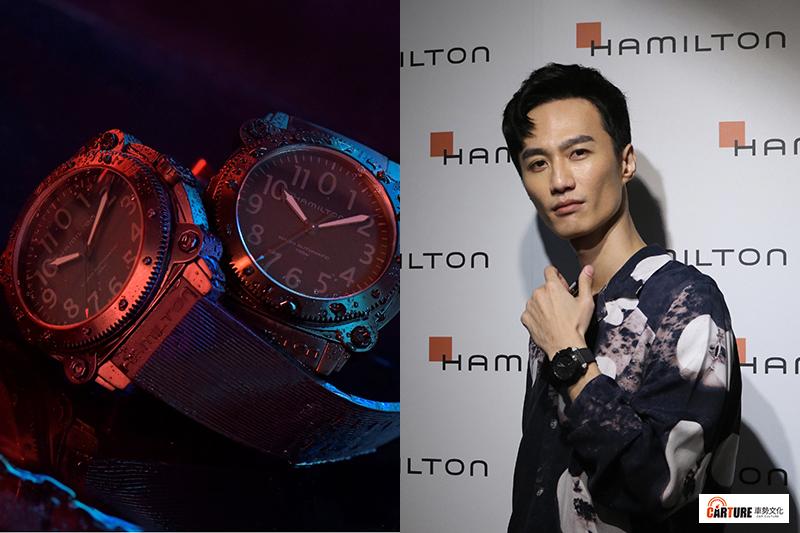 Hamilton漢米爾頓與克里斯多夫諾蘭電影新作《TENET天能》合作,打造出一款功能獨特的BeLOWZERO特別版腕錶,並邀請歌手李英宏出席發表會。