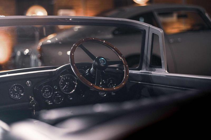 雖然為孩童車型,但車輛所有細節都依照正常DB5設計。