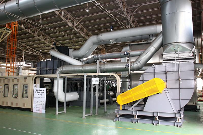台鈴工業廠內擁有二輪產業第一座蓄熱式焚化爐。