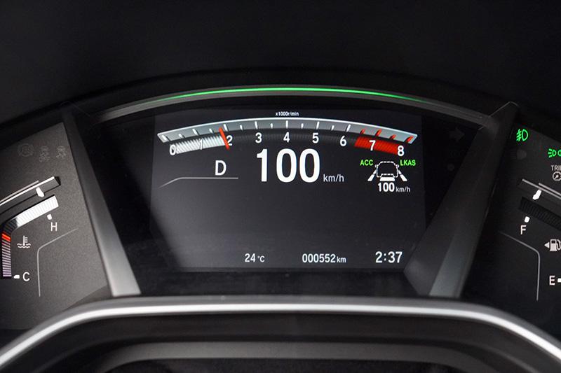 在新年式改款CR-V上依舊標配了Honda Sensing智慧安全主動防護系統。