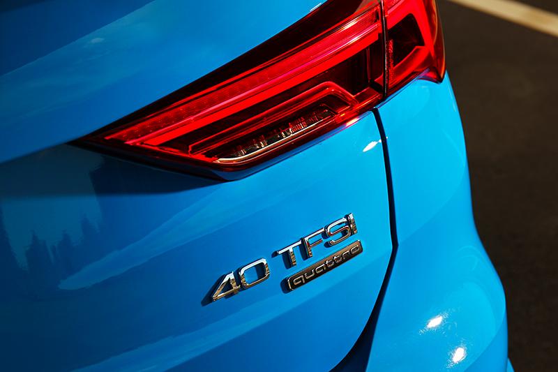 40 TFSI車型沒有輕油電系統,但2.0升渦輪引擎卻給予更暢快的動力輸出。