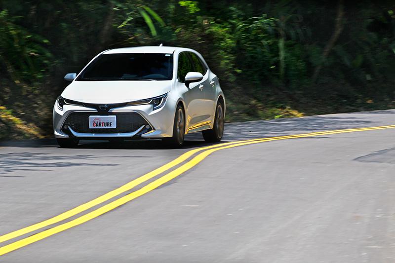 Corolla Sport雖為自然進氣設定,但實際則有著頗為輕快的加速表現。