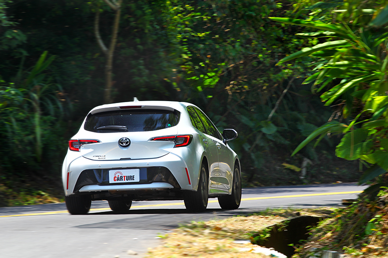 Corolla Sport所帶來的動態個性讓人喜歡。