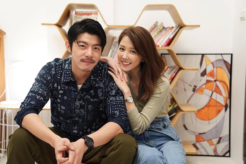 王柏傑(左起)與邵雨薇將在影集版《比悲傷更悲傷的故事》譜出戀情。