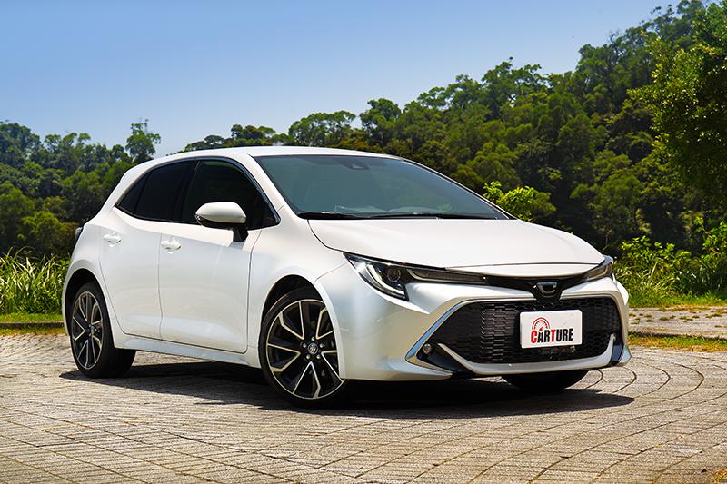 新年式車型加入新色後以Corolla Sport的10色搭配最為豐富