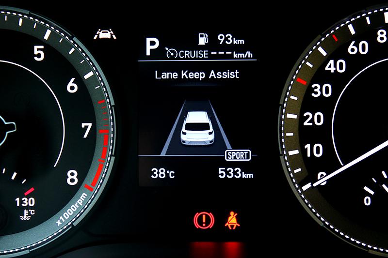 中規以上車型配置FCA前方主動煞停輔助、LKA車道偏移輔助、LVDA前車駛離提醒、DAW疲勞警示等配備。