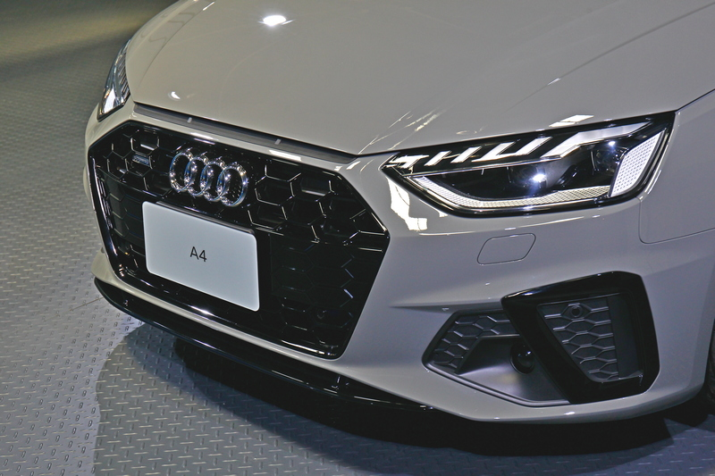 小改A4/A4 Avant搭載2.0升渦輪引擎,分別各提供 40 TFSI 與45 TFSI 兩種動力選擇,同時更標配12V 輕型複合動力系統。