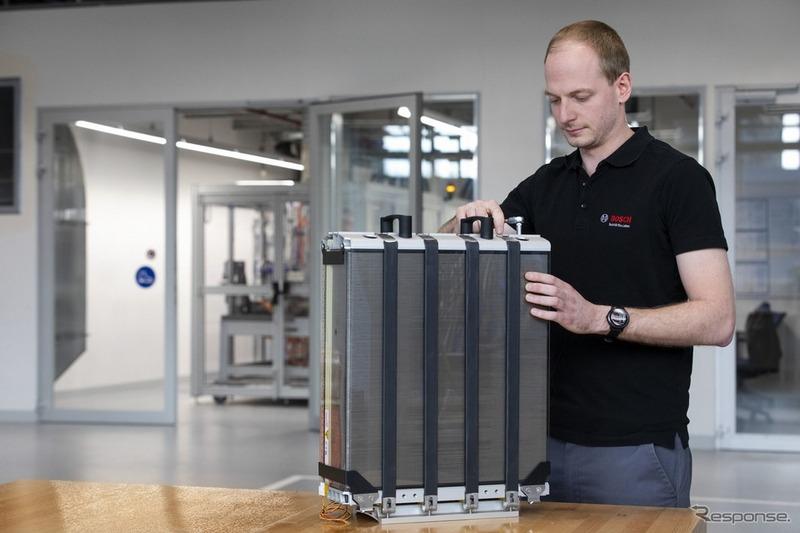 Bosch預計2022年要開始生產提供卡車用的氫燃料電池。