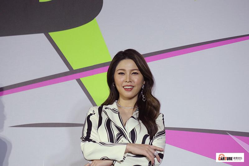 《第55屆電視金鐘獎》第一階段主持人白家綺。