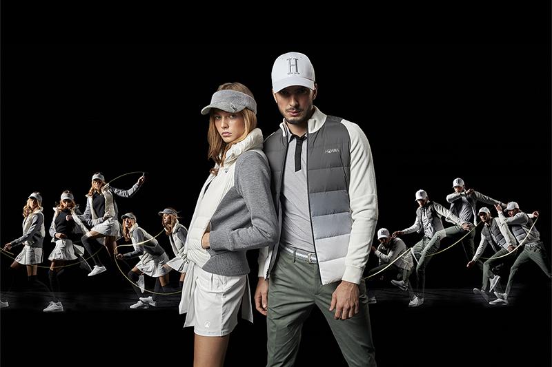 日本高球品牌Honma 2020 F/W秋冬服飾新品展現英倫時尚復古設計。