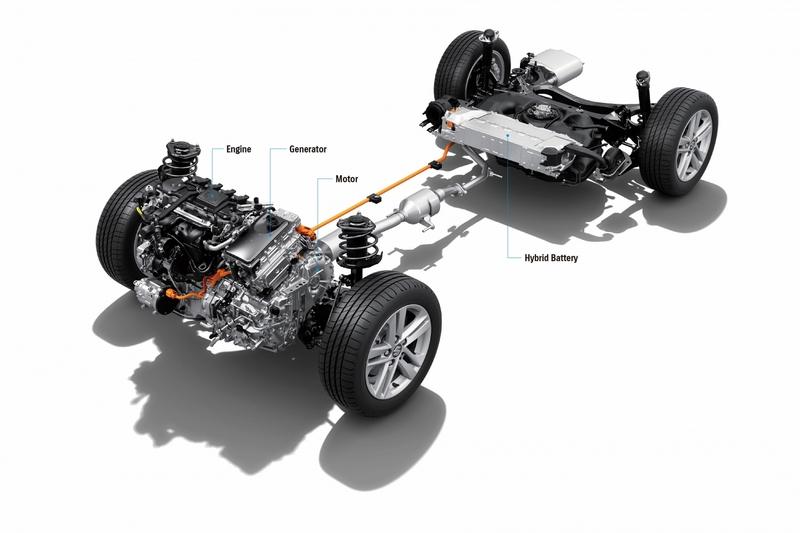 Swace動力搭載1.8升Hybrid系統。