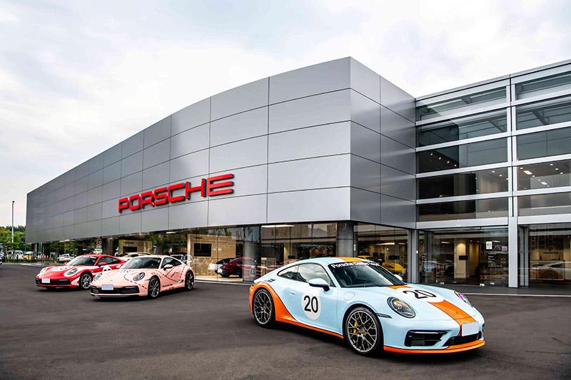 台灣保時捷介紹全台首座以「Destination Porsche」概念打造的台北保時捷中心。