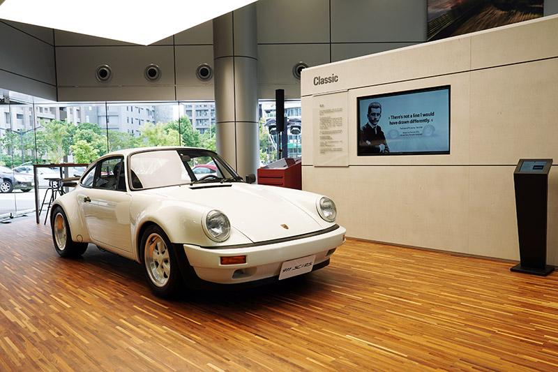 「Classic Module」展示保時捷經典車款。