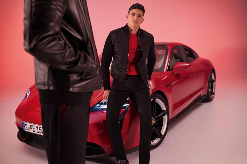 Boss結合Porsche Taycan四度合作聯名系列,展現保時捷跑車美學