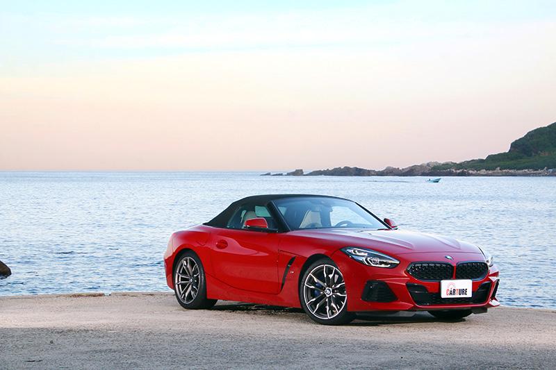 賴郁庭夢想車款是BMW Z4(示意圖)。/本站資料照片