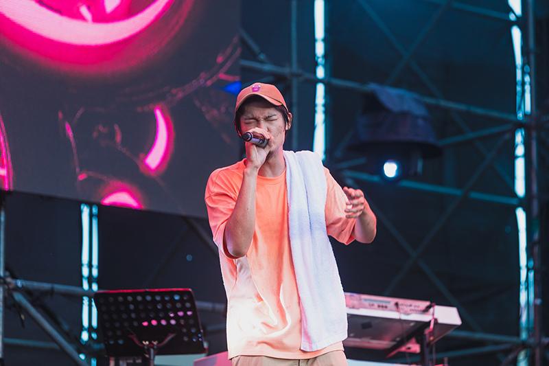 《綠生活音樂節》是Leo王今年第一場個人大型戶外音樂。