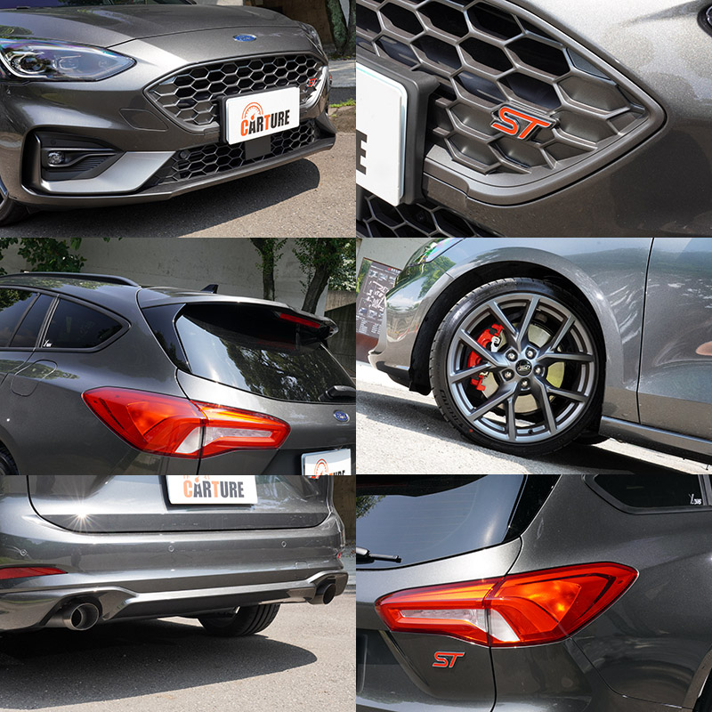 Focus ST Wagon與Focus ST相同,配有競技型 Performance Pack套件。