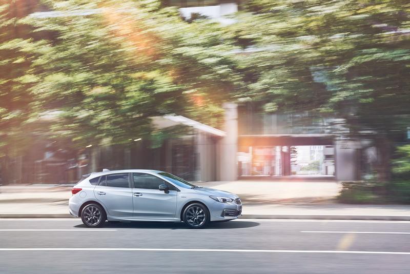 在電動馬達助益下Impreza e-Boxer有著較一般車型更出色的加速也油耗。