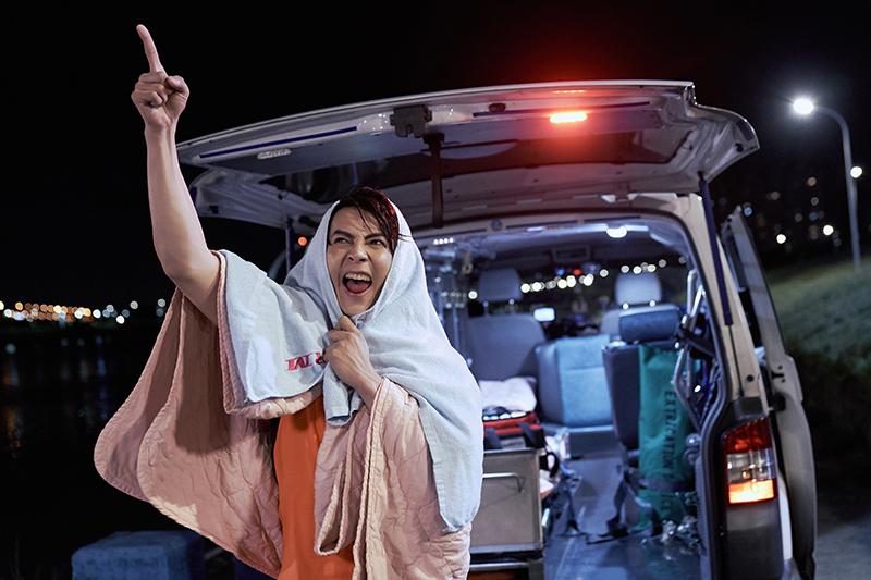 汪東城主演的台視、八大最新戲劇《因為我喜歡你》。
