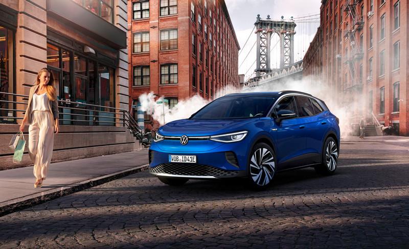Volkswagen ID.4已於23日正式發表亮相,流線自然的設計承襲族風格,同時也帶來0.28cd風阻係數。