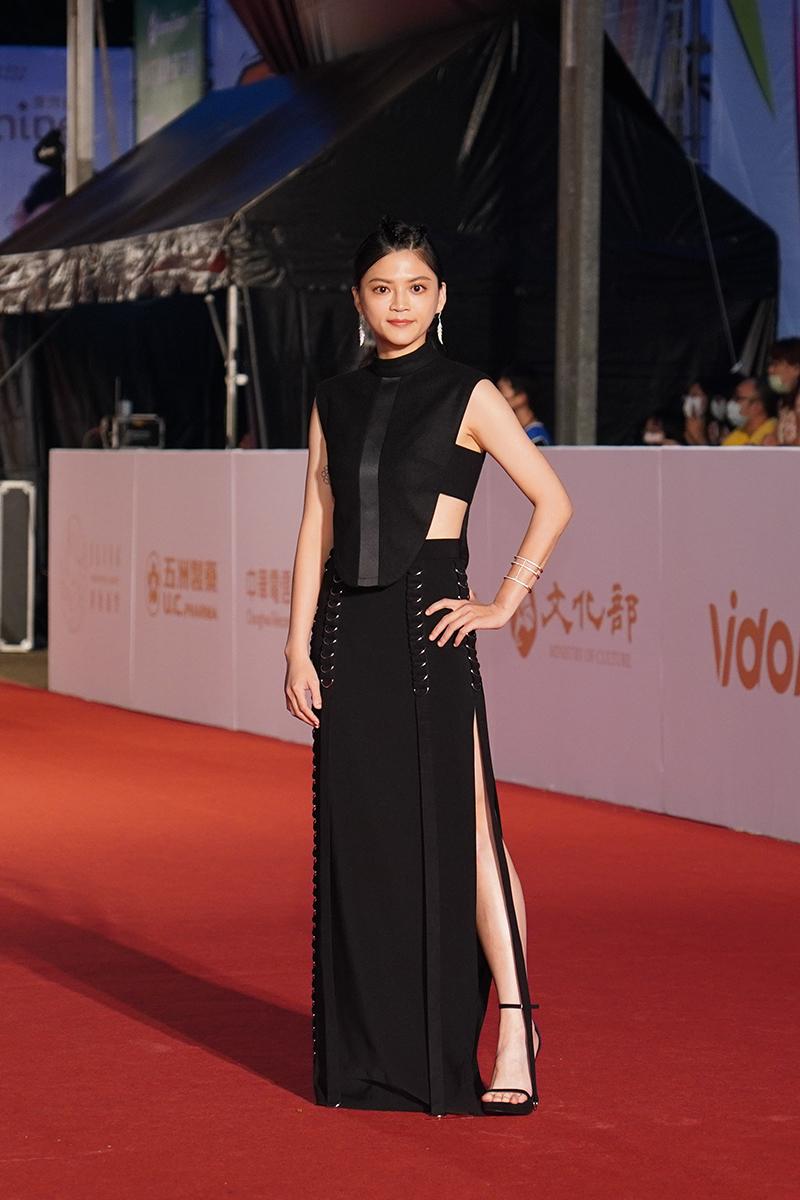 第55屆電視金鐘獎星光大道紅毯-瑪莉亞(葉欣眉)。