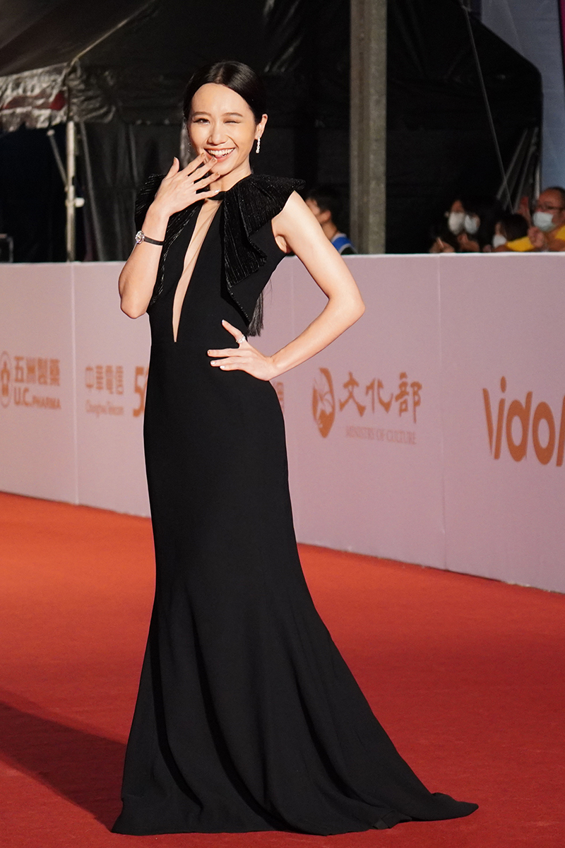 第55屆電視金鐘獎星光大道紅毯Lulu黃路梓茵。