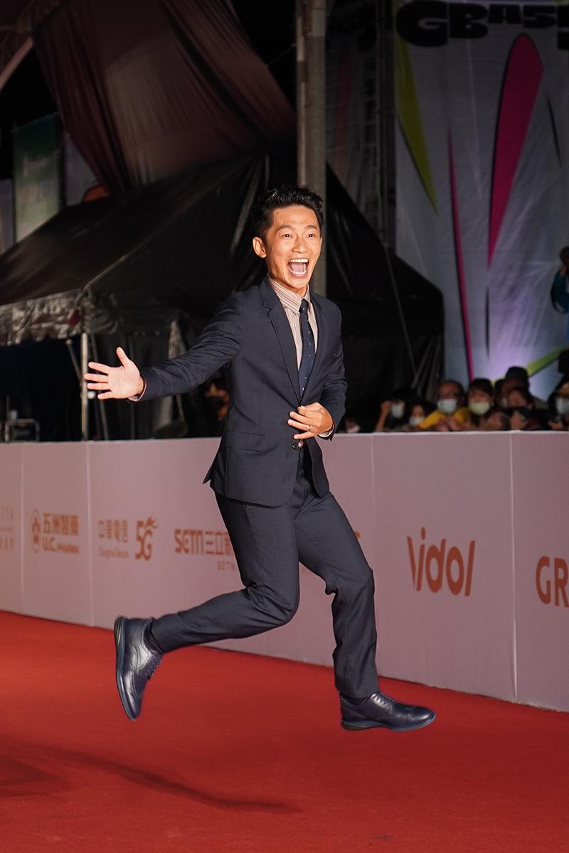第55屆電視金鐘獎星光大道紅毯-蔡昌憲。