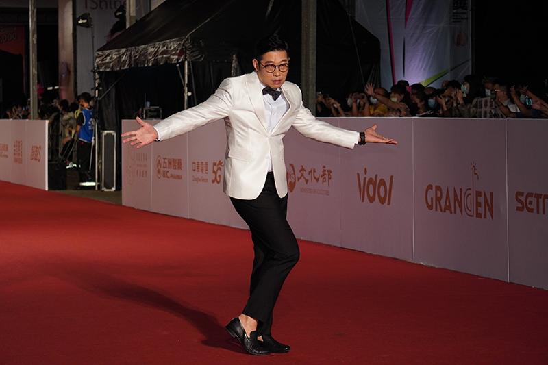 第55屆電視金鐘獎星光大道紅毯-馬力歐。