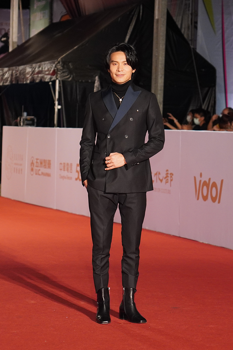 第55屆電視金鐘獎星光大道紅毯-姚淳耀。