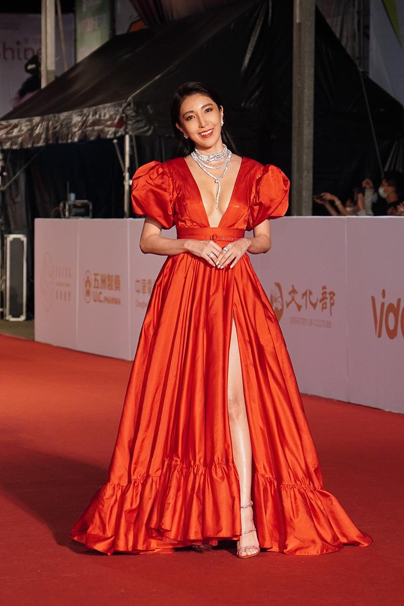 第55屆電視金鐘獎星光大道紅毯-楊謹華。
