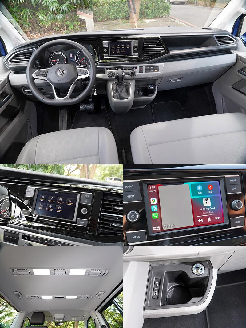 車室內中控台造型也略做改變,主要是將多功能系統的位置向左移更靠近駕駛測,並在排檔座右側增加USB Type-C插槽。